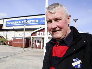 Stefan Karlsson, sportchef i Edsbyn.