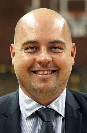 Pontus Frivold, head coach och sportchef.