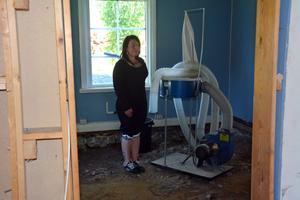 Martina Gustafsson har lagt ner mycket pengar på sitt hus – till ingen nytta – eftersom det nu inte går att bo där.