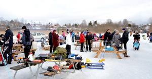 Vintersöndagen lockade mängder av motionärer från södra Dalarna till Brunnsjön i Hedemora.
