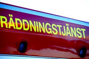 Räddningstjänsten larmades om en soteld i Bergsåker.