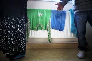 Det var i söndags som Migrationsverkets asylboende på Frösön blev utsatt för trakasserier. Foto: Håkan Luthman