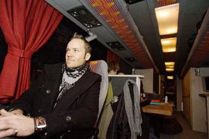 Jörgen Sandström, bandets nyaste medlem.