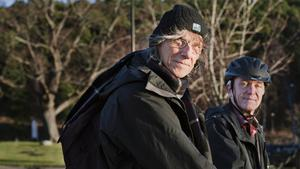 Lars Ljungdahl (Lasse) och Lars Klasén, Naturskyddsföreingen.
