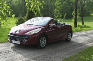 Peugeot 207.Foto: Per-Olof Lönnroth