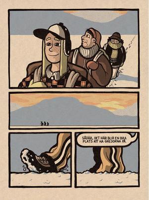 Ett utdrag ur serieboken