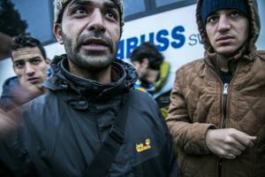 Moaweyh Ramly fungerade som talesperson under de två dygn som busstrejken pågick.