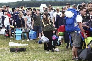 På festival blir många tjejer utsatta för sexuella trakasserier.