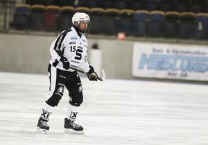 Linus Pettersson har en hel del rutiner före match – några kanske märkligare än andra.
