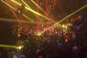 Nattlivet i Las Vegas är inte oväntat vilt och omfattande. På Hakkasan Nightclub går det hett till.