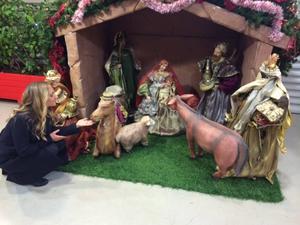Tänk om man hade en sån här hemma. Älskar julen!