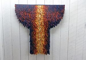 Anita Svahn visar textilkonst i Tallbo.
