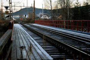 Tekniska förvaltningen vill först och främst se en gångbro över Gimån i Trafikverkets plan fram till 2025.