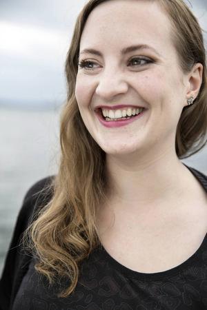 Om drygt ett år kan Elisabeth Sundin titulera sig operasångare. Troligen Härjedalens första.