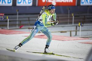 Åkningen och skyttet stämde väldigt bra för Elisabeth Högberg, som svarade för karriärens nästa bästa insats i världscupen.