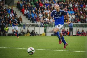 Stefan Ålander i aktion.