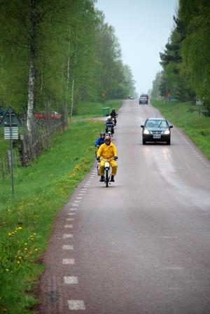 Entusiaster. Trots regn genomfördes årets upplaga av Gärdsjö Grand Prix i gott mod.