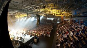 Lindesberg arena invigdes med en stor festföreställning.BILD: HÅKAN EKEBACKE