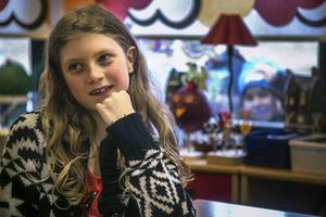 Elvira Norman, 9 år, Storvikenskolan i Brunflo: