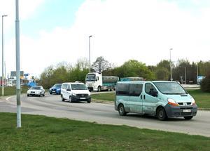 Vid Nordanbymotet inträffar nästan 13 olyckor varje år. Åtta av dessa handlar om bilister som blir påkörda bakifrån.