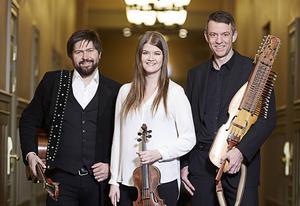 Daniel Ek, Emma Ahlberg och Niklas Roswall kan vinna pris vid Folk & Världsmusikgalan i april.