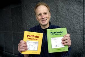 Det har blivit två böcker också under de tio åren.