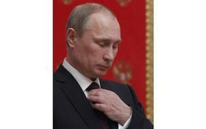 Vladimir Putin, Rysslands president. Foto: Maxim Shemetov
