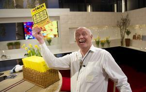 Nisse Kopamees tänker fira miljonvinsten med en grillmiddag hemma i Bergsjö.