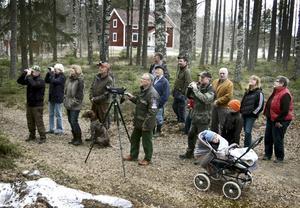 Sävsjöns bydgegårdsförening vill få mer fart på föreningen och gör en extra satsning på årets program. Upptakten handlade om fågelskådning.