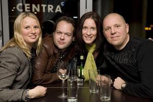 Style Awards på Varda Ursula, Fredrik, Anette och Patrik.