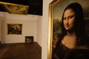 Mona-Lisakopian får hänga kvar på Jamtli i drygt tre månader till.  Foto: ulrika andersson