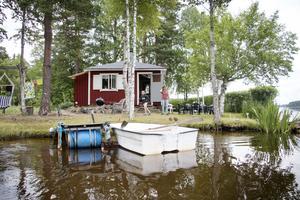 Familjen Erikssons alldeles egna ö i Storsjön,