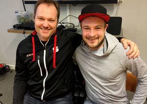 Magnus Muhrén och Christoffer Edlund tillsammans i SAIK igen. Muhrén är klar som ny tränare efter två år i Villa.
