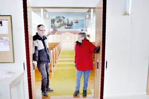 Ann-Mari Stendahl sköter tillsammans med sin man Tomas verksamheten i Wall.