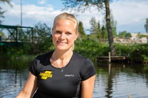 Nu väntar VM i Amsterdam för Norrtäljeroddaren Anna Malvina Svennung.