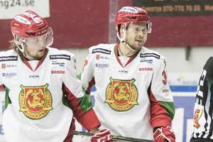 Viktor Amnér och Jacob Nilsson Mora IK.