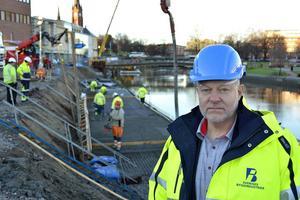 Berndt Jonsson, regionchef för Sveriges Byggindustrier i södra Norrland.