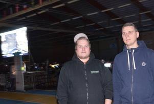 Stefan Pettersson och Kristofer Larsson ingår i arrangörsteamet.