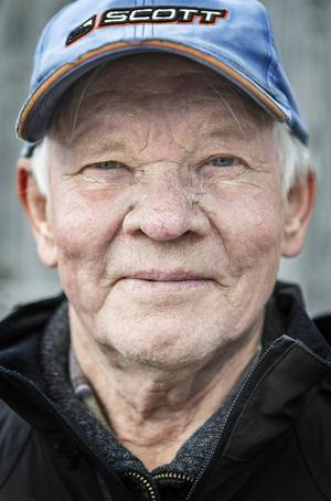 Gösta Bergkvist, pensionerad renägare.