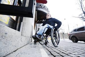 Lars-Göran Wadén testade tillgängligheten tillsammans med GD förra veckan.