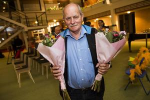 Bo Andersson blev kvällens största vinnare med pris i två kategorier. Bästa produktidé och bästa totalidé för sin elsäkerhetslösning.