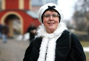 – Fantastiskt, det griper tag i en, säger Lena Nybacka om vandringen.
