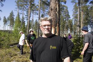 Mikael Edström, ordförande i Fetvedens vänner.