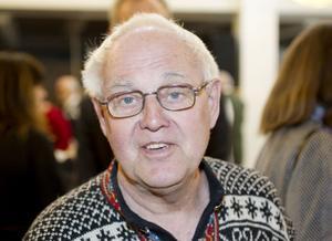 """Bengt Hedén, 76 år, pensionär, Sandviken.– """"Fallet Lillemor Holm"""", den handlar om Evanders uppväxtmiljö."""