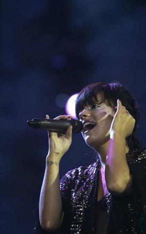 Till årets affischnamn på Göteborgsfestivalen Way Out West hör bland annat den brittiska sångerskan Lily Allen.