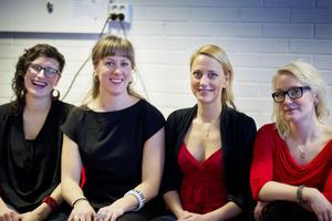 Lotta Andersson (bor numera i Stöde) samt Lovisa Liljeberg, Emma Björling och Anna Vikenius.