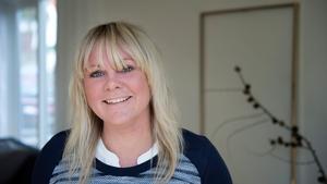 Helena Nord visar sitt pysslande på bloggen