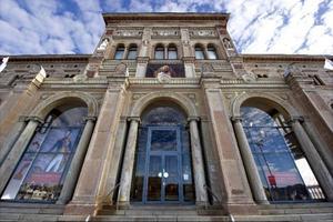 Nationalmuseum + Jamtli = SANT. Planeringen går vidare för den nya konsthallen i Östersund. Hur nybygget ska utformas kommer att avgöras genom en arkitekttävling. Foto: Jocke Berglund och Scanpix