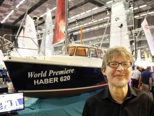 Gävlebon Mattias Brundell representerar Haber Yachts, en spännande nyhet.