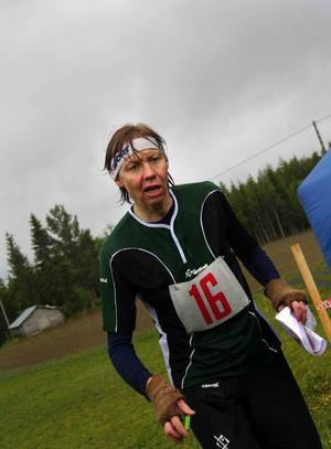 Östersunds OK:s Erica Johansson segrade två gånger i rad i helgens DM i orientering i Nyby.